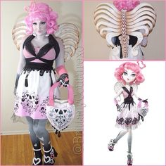 C.A. Cupid Monster High Cosplay  @Test Test #monsterhigh #c.a.cupid
