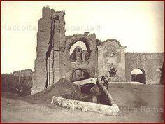 Via Tuscolana – Porta Furba Anno: 1878