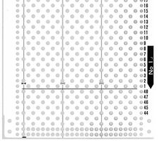 http://www.needlesofsteel.org.uk/punchcardsets.html PDF's of original punch cards for each company. Brother, Silver Reed, toyota...etc
