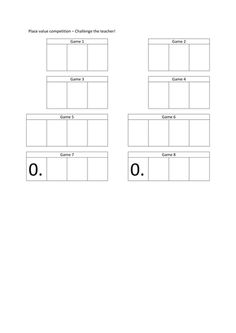 Changing decimals to fractions worksheet tes