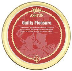 Ashton Guilty Pleasure 50g Tobaccos at Smoking Pipes .com