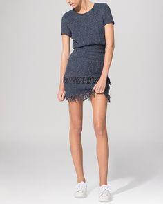 Maje Dress - Smocked Fringe Hem | Bloomingdale's