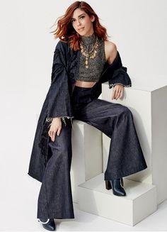 Camila Coutinho para a #glamourdeabril (Foto: Fernando Tomáz)