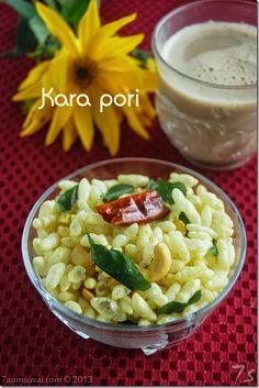 7aum Suvai: Puffed rice mixture / Kara pori