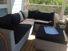 Parveke Decor, Furniture, Outdoor Decor, Sectional Sofa, Sofa, Outdoor Furniture, Home Decor, Sectional, Outdoor Sectional