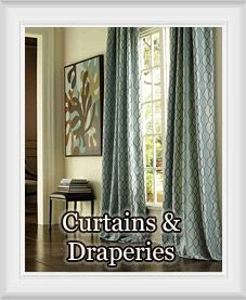 Metropolitan flocked curtain panel available in 7 color for Best place for window treatments
