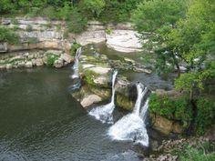 Cataract Falls Upper(45ft) Lower (30ft), Owen County, IN.
