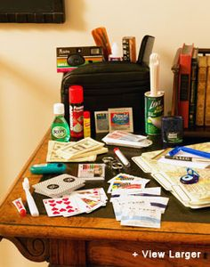 and the must have survival kit for the groom!