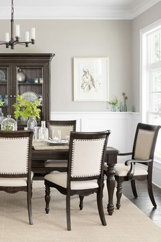 Our Welcome Home Dining Table And Chairs Brings A Southern Charm To Any Dining  Room.