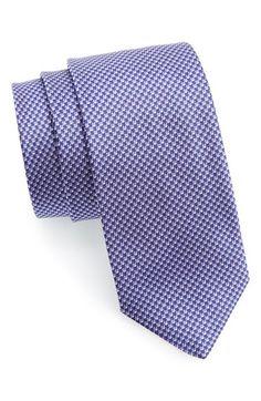 Men's BOSS Woven Silk Tie