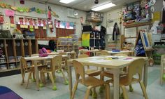 A pre-k classroom at P.S. 261 in Brooklyn. Men in early childhood education