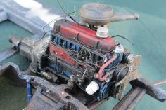 1966 Chevy 230 engine - Scale Auto Magazine - For building plastic & resin scale model cars, trucks, motorcycles, & dioramas Model Cars Kits, Kit Cars, Car Kits, Chevy C10, Metal Models, Scale Models, Model Cars Building, Truck Scales, Plastic Model Cars