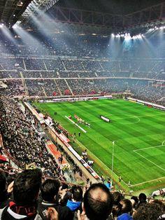 Stadio Guiseppe Meazza (San Siro), Milano, Italia
