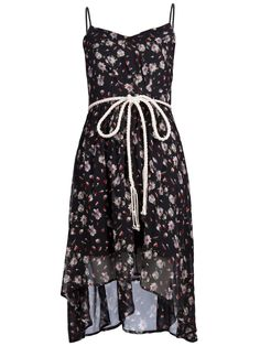 Floral dress................ I would so wear this with some cow girl boots :)