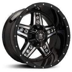 RBP Colt Truck Wheels & Rims - Black and Machined