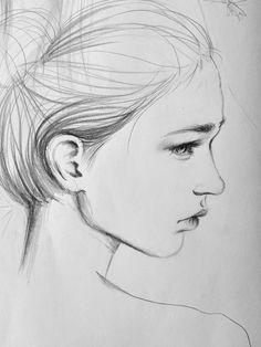 Behance :: Daily Sketch by Amanda Mocci
