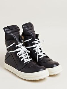 Rick Owens Men's Geobasket Sneakers.