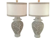 Blanc de Chine Lamps, Pair on OneKingsLane.com