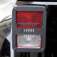 Mad Hornets - Rear Metal Tail Lights Lamp Cover Guards Protector Jeep Wrangler 2007-2016, $37.99…