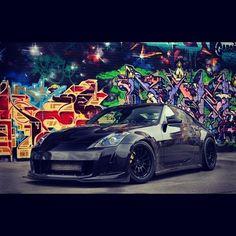 Drifty #350Z #Nissan #Lowered #LowLife #JDM#CarPorn #Graffiti #Fitment #HellaFlush #DefineStance