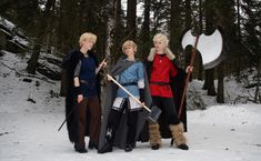 The vikings by FarbrorEstersPojkar on DeviantArt (Snowchild is the BEST Norway cosplayer ever!)