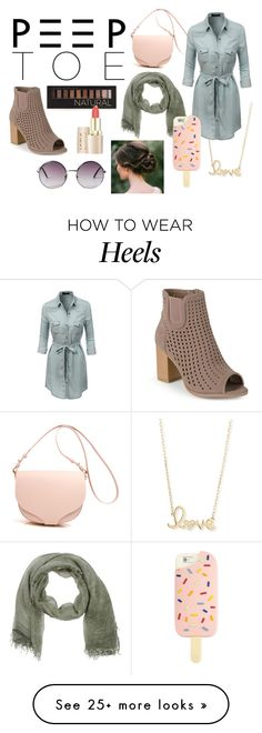 """""""Peep Toe Heels Contest Entry"""" by diana-d-awesome on Polyvore featuring Sydney Evan, Stefanel, LE3NO, Journee Collection, Forever 21, Monki and Tory Burch"""