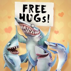 Very often it's the smallest gestures that make a big difference. Today is #WorldKindnessDay, an occasion to celebrate all that is good about being kind to everyone, whether we know them or not! <3 #HungryShark