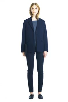 Strong and feminine. Garcon Blazer by HOPE Scandinavian Fashion, Normcore, Feminine, Strong, Blazer, Clothes For Women, Jackets, How To Wear, Shopping