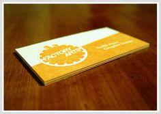 Factory Arts - Business Card Design Inspiration | Card Nerd