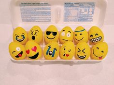 emoji decorate egg ideas - Google Search