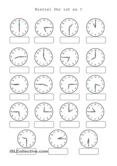 Wieviel Uhr ist es – Rebel Without Applause 2nd Grade Math Worksheets, School Worksheets, Preschool Writing, Teaching Math, Teaching Time, Creative Writing Ideas, German Language Learning, Learn German, Schools First