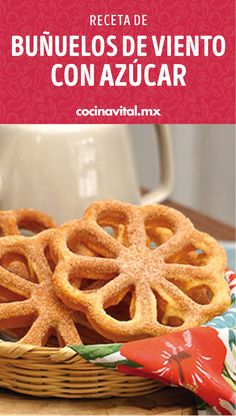 Rosettes Cookie Recipe, Rosette Cookies, Lunch Recipes, Mexican Food Recipes, Cooking Recipes, Healthy Recipes, Ethnic Recipes, Fancy Desserts, Chocolate Caliente