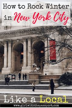 #Winter is one of the best times to #visit #NewYorkCity. But it can be hard to figure out what to do in #NYC. So here is a bucket list of all the #attractions local's visits and things New Yorkers do during the #holidays.