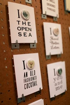 button cards by The Regional Assembly of Text at NSS 2012 | via ohsobeautiful paper