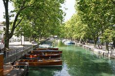 Canal de la ville d'Annecy