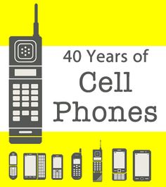 Happy 40th Birthday to the Cell Phone!
