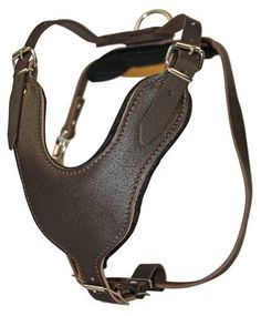 Dean and Tyler Leather Basic Nickel Hardware Dog Harness, Brown, Large - Fits Girth Size: 31-Inch to 41-Inch ** You can find more details by visiting the image link. #DogLovers