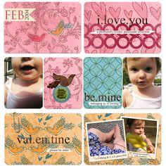 Pocket Life: Three Little Words Digital Scrapbooking Kit by Sarah Batdorf   ScrapGirls.com