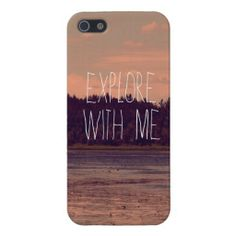 Explore with Me iPhone Case Case For iPhone 5