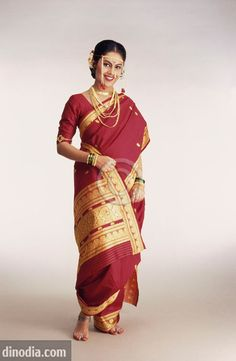 Maharashtrian bridal makeup get the perfect look in 10 easy steps - 1000 Images About Marathi Bride On Pinterest Saree