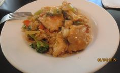a Chef's Journey recipe - Asian Inspired Smothered Louisiana Alligator over Brown Rice. http://www.grouprecipes.com/139455/southern-fusion-louisiana-alligator-over-brown-rice.html