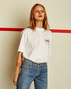 16 SS PINK TAPE T-SHIRTS www.fecanfie.com - #fecanfie #fecanfieseoul #fashion #brand #editorial #collection #design #photography #fashionphotography #editorialphotography #fashioneditorial #fashionshoot #16ss #cap #tshirts #피칸파이 by fecanfie_seoul