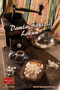 #damla #sakızlı #lokum #türk #kahvesi #kahve #değirmeni #turkish #delight #coffee #hacı #şerif #haciserif #hacışerif #yöresel #lezzetler