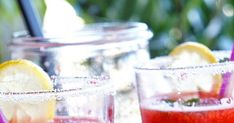 Strawberry Lemonade, Λεμονάδα Φράουλας, Pink Lemonade, Pink Strawberry Lemonade Recipes, Low Carb Recipes Strawberry Lemonade, Strawberry Limeade