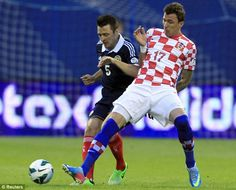 ~ Mario Mandzukic on the Croatia National Team against the Scotland National Team in the World Cup Qualifier ~