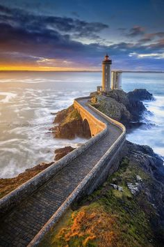 "Petit Minou Lighthouse (""Little Mouth""), Brest, Bretagne region, France, Built in 1848 Oh The Places You'll Go, Places To Travel, Places To Visit, Brest Bretagne, Lighthouse Pictures, Belle Photo, Wonders Of The World, Beautiful Places, Beautiful Life"