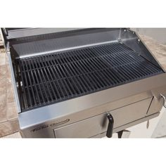 Turbo Charcoal stainless steel grill