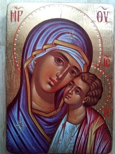 Mother of God,Virgin and child,Orthodox icon,hand gold Byzantine Icons, Unique Birthday Gifts, Paint Shop, Pictogram, Special Gifts, Wedding Gifts, Prayers, Religion, Van Damme