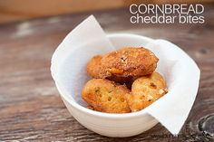 cornbread cheddar bites recipe