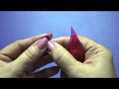 tatting dimpled  ring heart